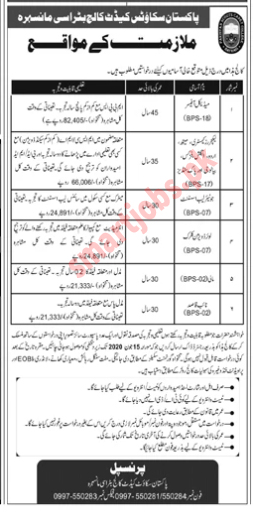 Jobs In Pakistan Scouts