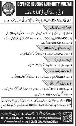 DHA Jobs, Defence Housing Authority Jobs
