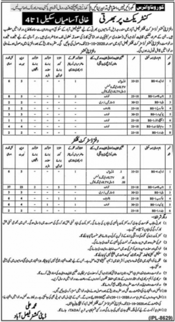 Deputy Commissioner Office Jobs, DC Office Jobs