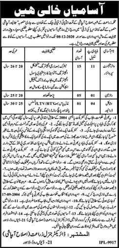Agriculture department jobs New