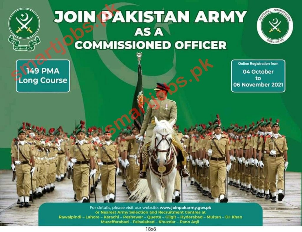 Join Pak Army PMA Long Course 149